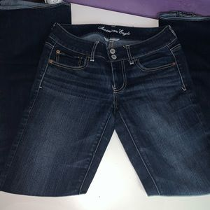 low rise jeans .